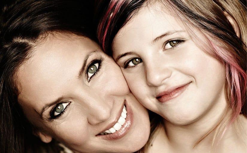 Dana Schweiger mit Tochter