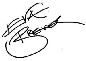 Eva Brenner Unterschrift